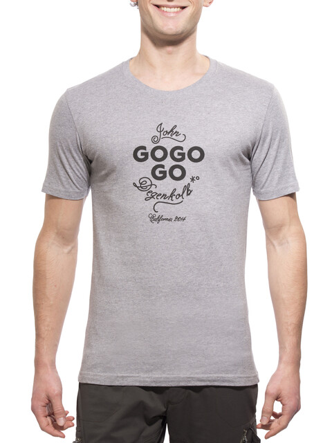 guilty 76 racing gogogo Dege California  T-Shirt Heren grijs